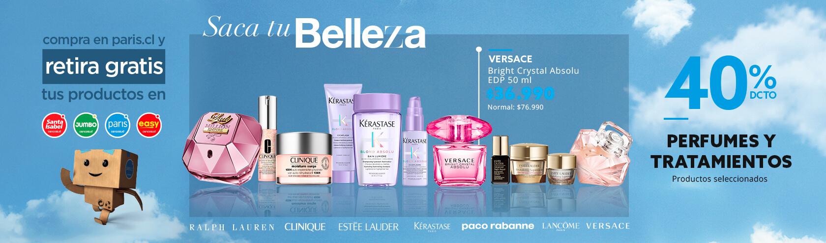 40% Perfumes y Tratamiento Productos seleccionados