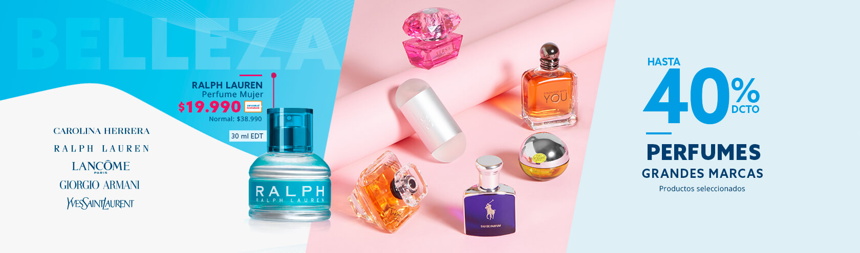 Descuentos en Perfumes