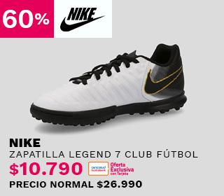 Zapatilla Nike JR Legend 7 Club Fútbol Niño