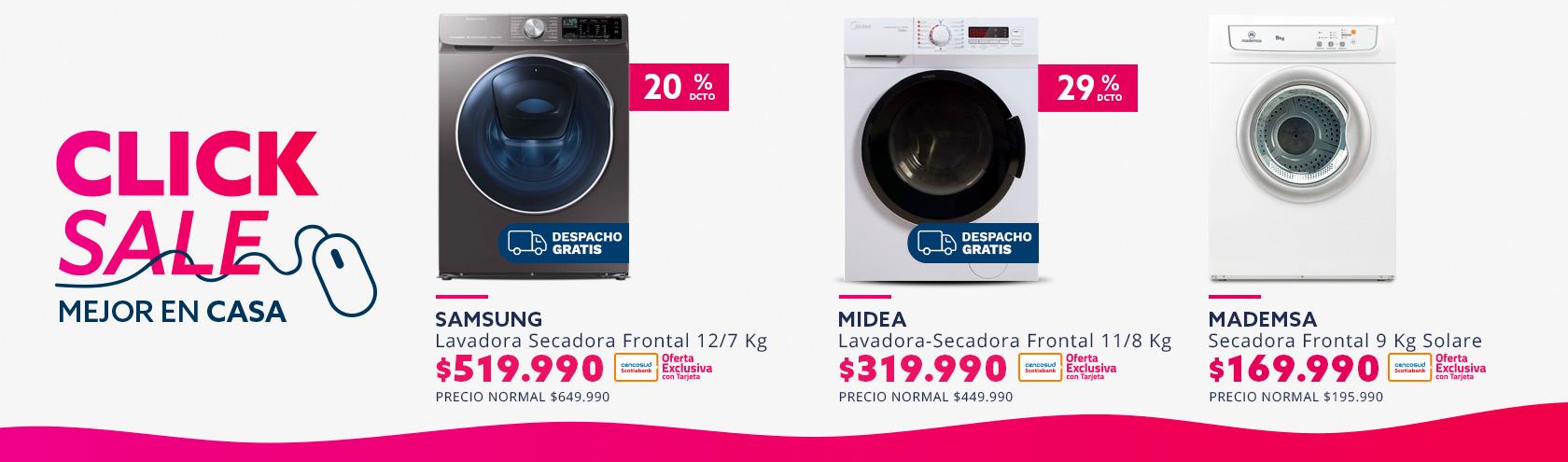 Ver ofertas en lavado y secado, despacho gratis en Región metropolitana