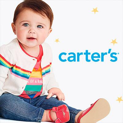 Ropa para bebés, niños y niñas de la marca Carter's