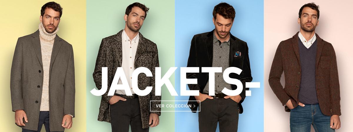 Jackets, nueva colección de Blazers y Abrigos moda hombre