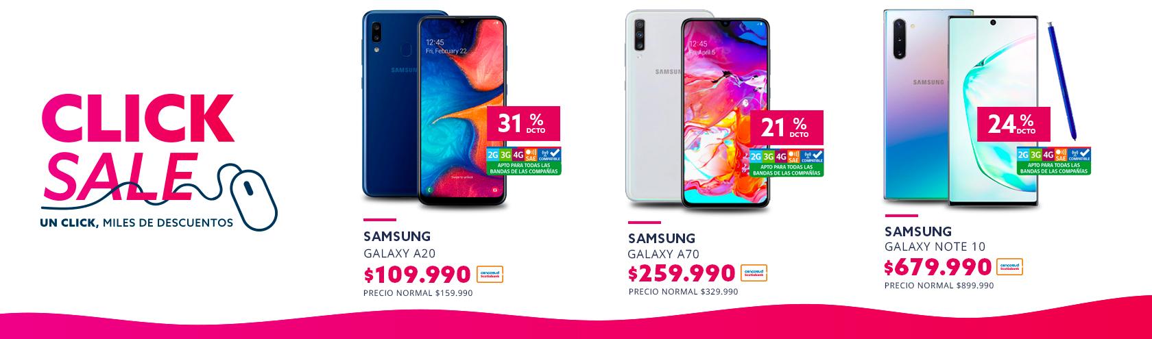 Encuentra los mejores descuentos de Smartphone Galaxy A20 Samsung en Click Sale paris.cl