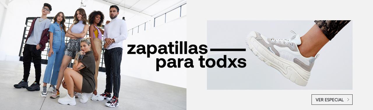 Ver especial Zapatillas para Todxs