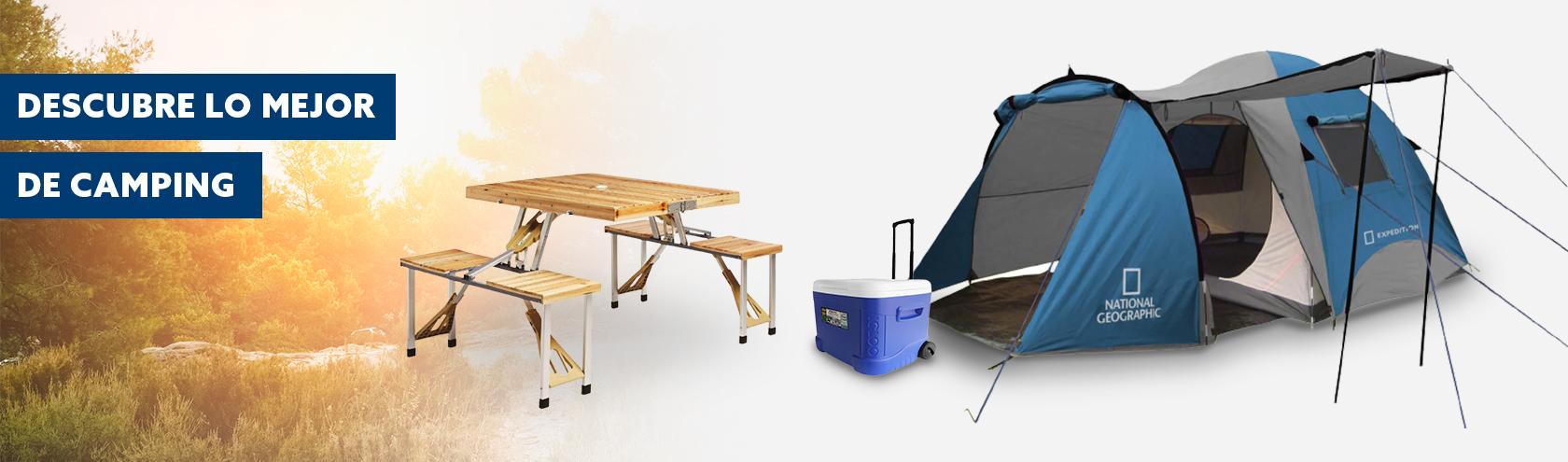 Descubre lo mejor de Camping