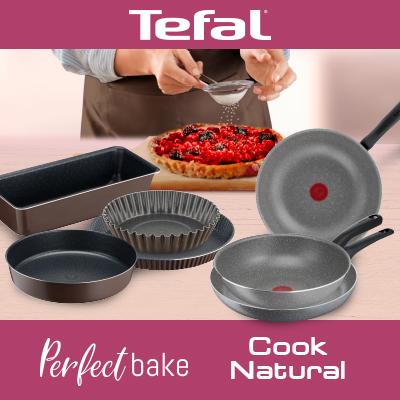 Especial Tefal perfect bake cook natural