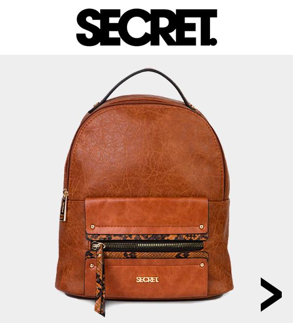 Ver todo carteras y mochilas Secret