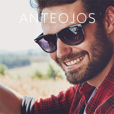 Lentes de sol para hombre de distintos modelos y marcas