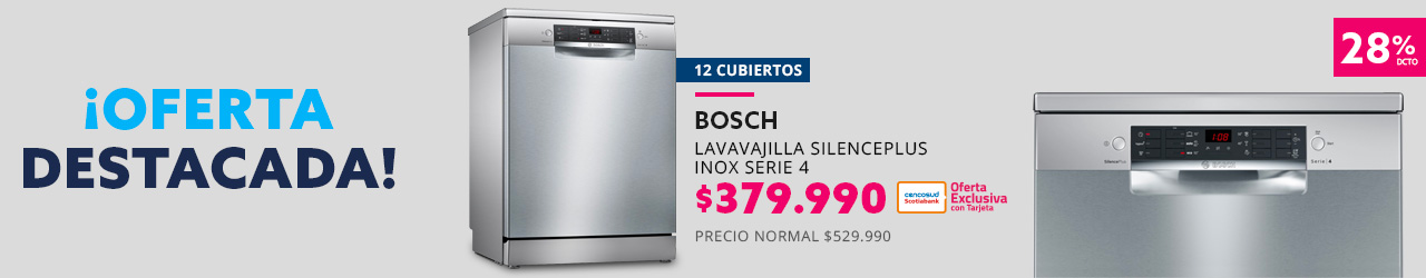 Lavavajilla Silence Plus Inox serie 4 SMS46AI05E