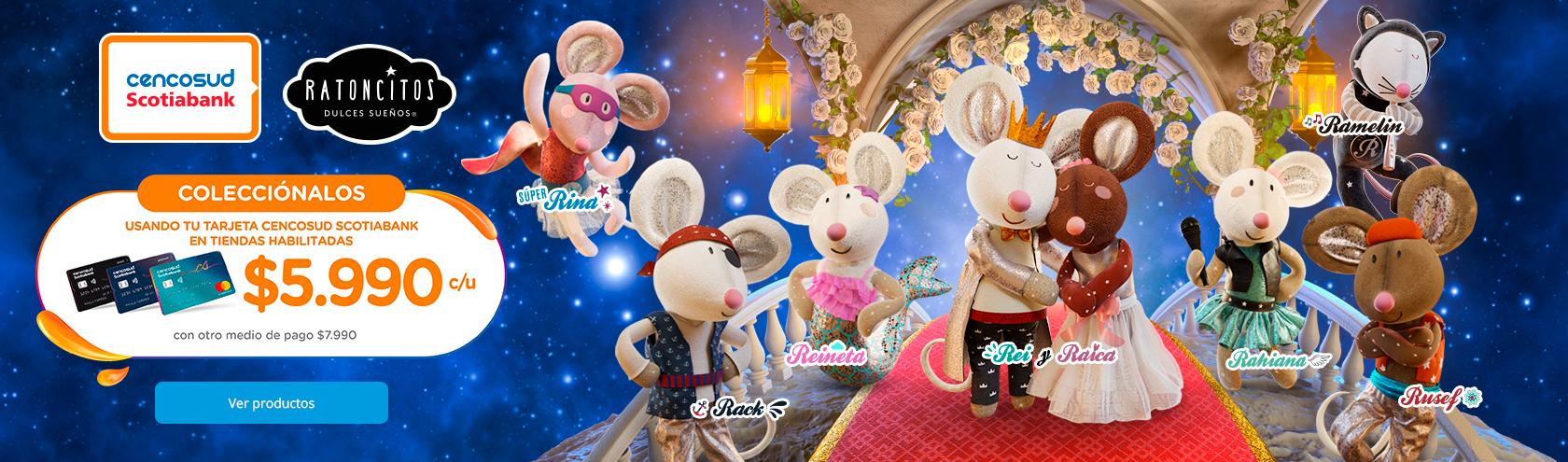 Volvieron los ratoncitos ¡Coleccionalos Todos!