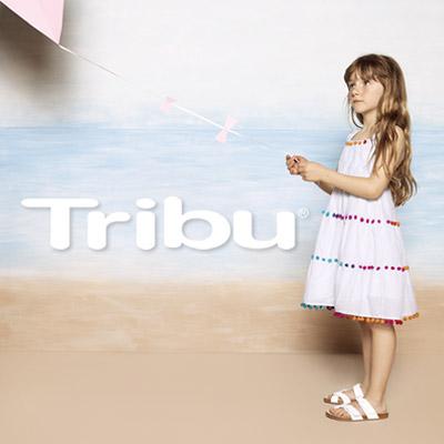 Vestidos de niñas y bebé de la nueva colección de Tribu