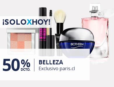 50% belleza exclusivo paris.cl