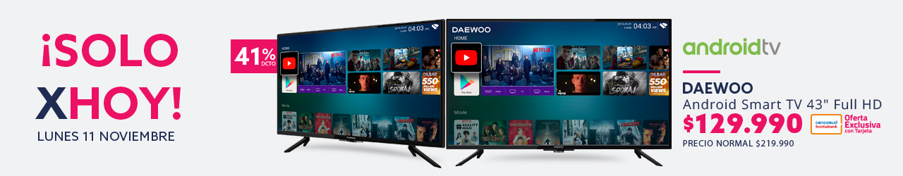 Android Smart TV 43 Full HD