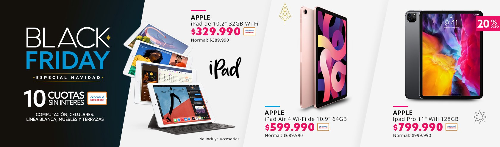 Descuentos en ipad apple