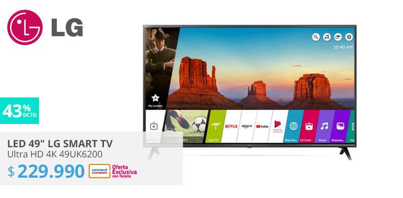 LED 49 LG smart TV Ultra HD 4K