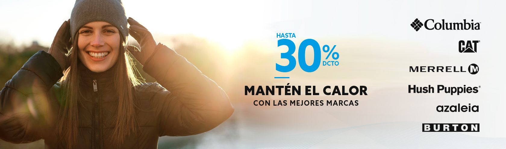 Hasta 30% dcto Mantén el calor en tu casa con las mejores marcas