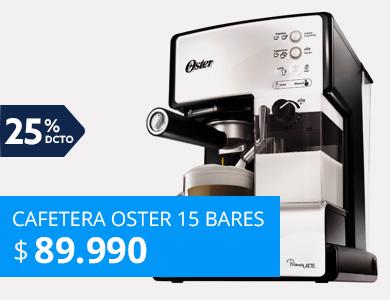 Cafetera Oster 15 bares Prima Latte
