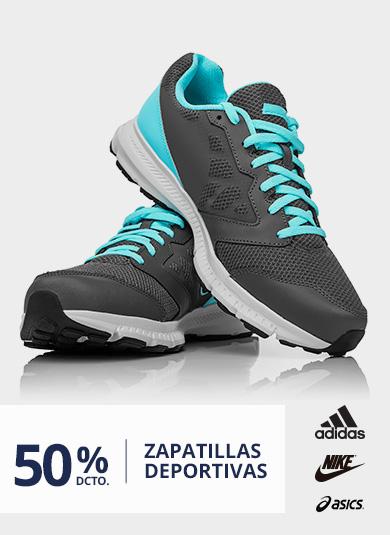 50% Dcto Zapatillas Deportivas