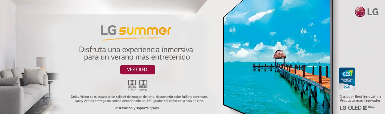 LG OLED summer