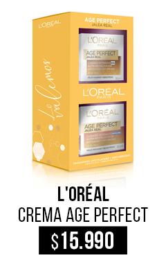 Ver Crema Age Perfect Jale Real Día + Noche