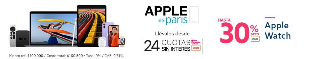Ofertas en todo Apple