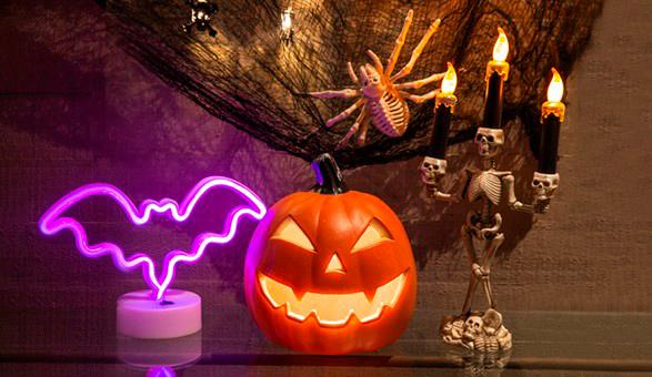 Decoración Hallowen en Paris.cl