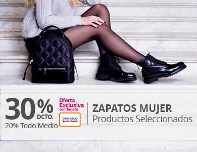 30/20 Zapatos Mujer