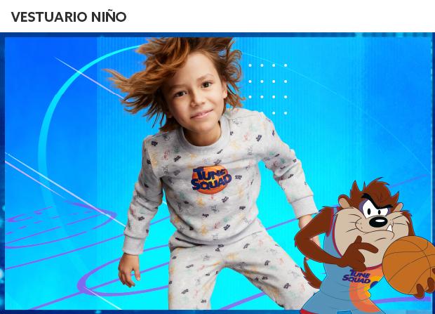 Vestuario y Zapatos Niño - Space Jam
