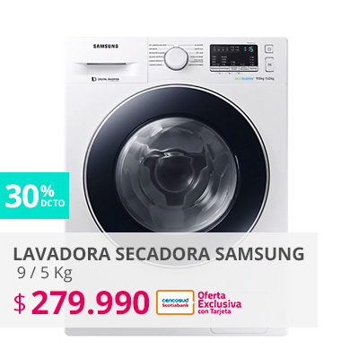 Lavadora Secadora Samsung Frontal