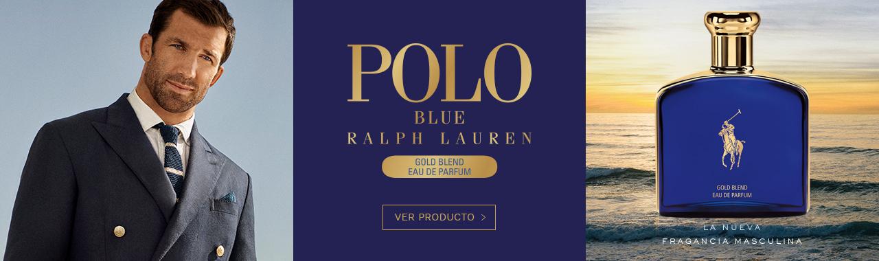 Lanzamiento perfume Polo Blue Gold Belnd de Ralph Lauren