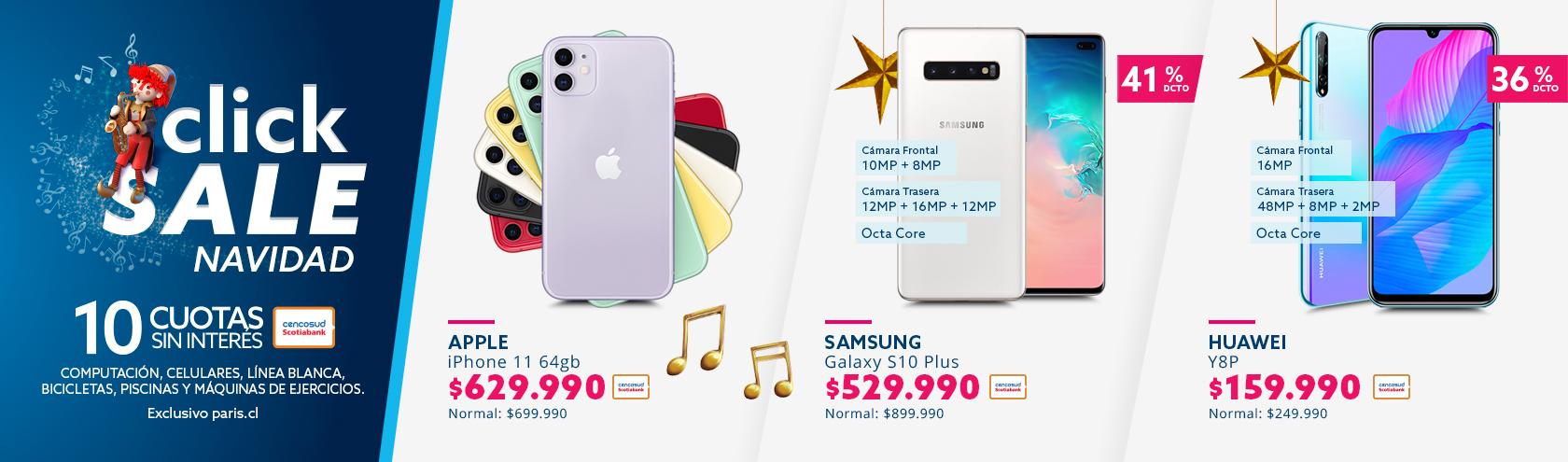 Ver ofertas especiales con tarjea cencosud en smartphones