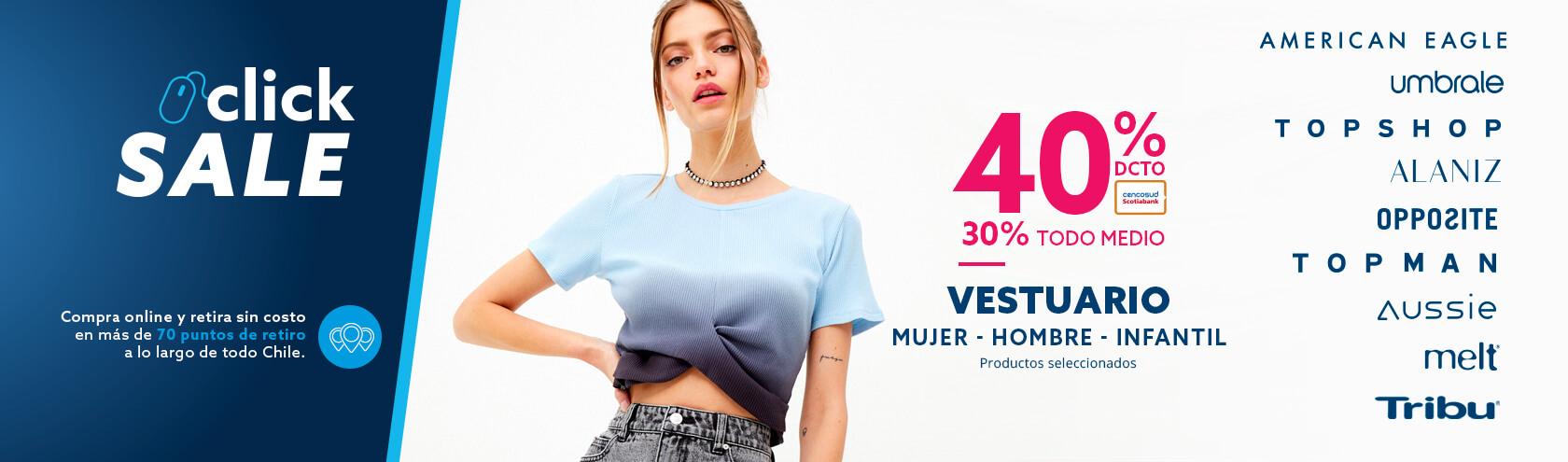 40/30 productos seleccionados moda hombre mujer infantil