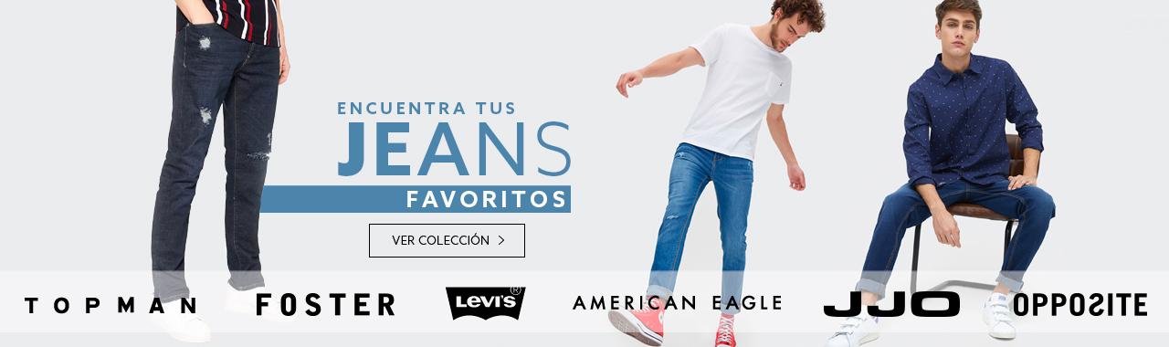 Encuentra tus jeans favoritos