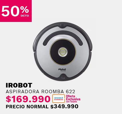 Aspiradora Roomba 622 Irobot