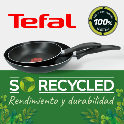 Especial Tefal so recycled