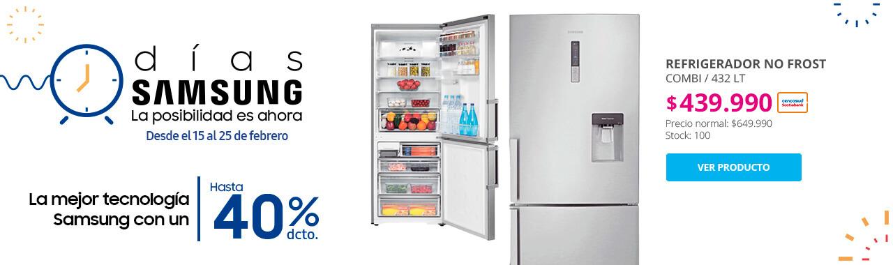 Refrigerador No Frost Combi Samsung