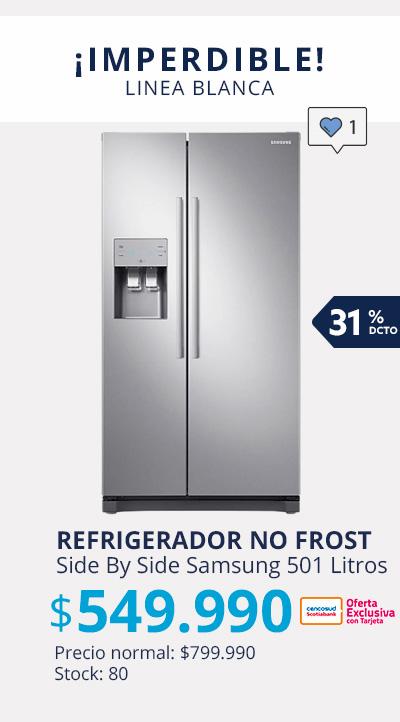 Refrigerador No Frost Side By Side Samsung