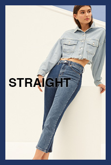 Fit Guide Jeans Straight Mujer