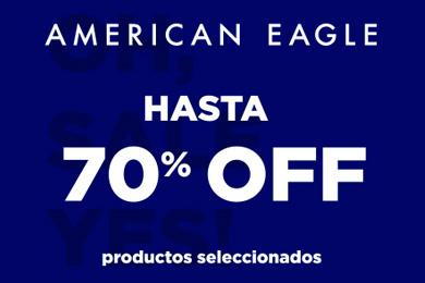 70% Dcto en American Eagle