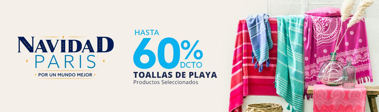 Hasta 50 por ciento todo medio en toallas de playa