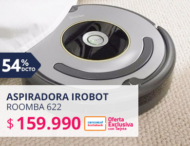 Aspiradora iRobot ROOMBA 622