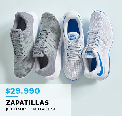 Zapatillas a 29990 pesos