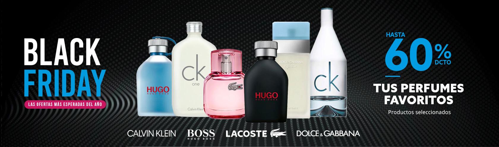 60 por ciento de descuento Calvin Klein, Hugo Boss Dolce % Gabanna