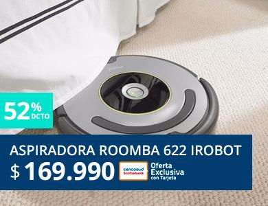 Aspiradora roomba Irobot 622