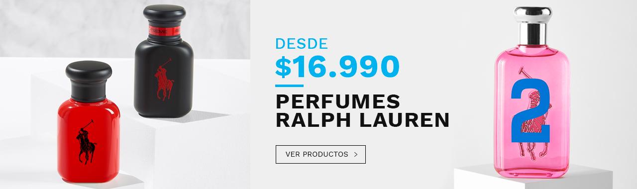 Perfumes Ralph Lauren desde 16990 pesos