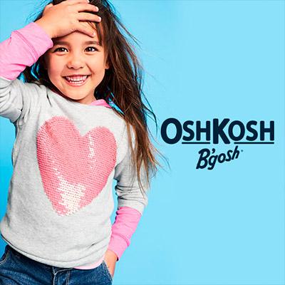 Pantalones, vestidos, poleras y más ropa Oshkosh para niños