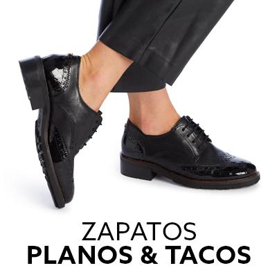 Zapatos planos y tacos mujer