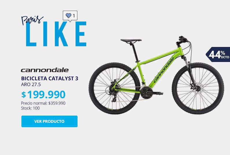 Bicicleta MTB Cannondale Catalyst 3 Aro 27.5