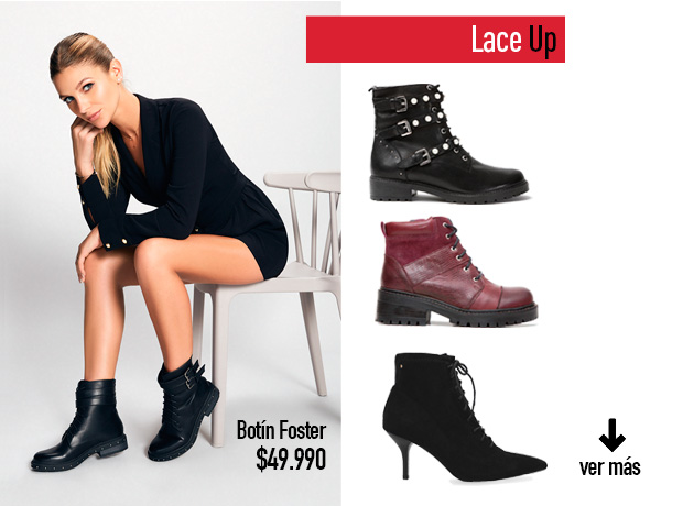 Ver todo Lace up Winter Shoes