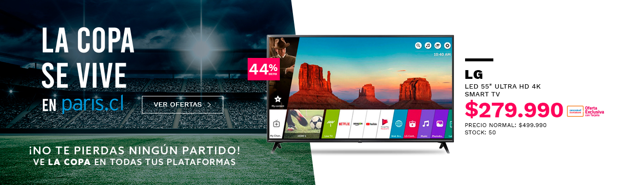 LED 55 LG Smart TV Ultra HD 4K